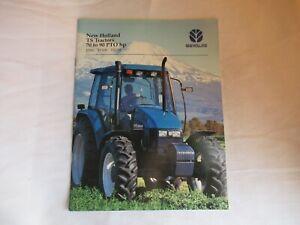 1998 New Holland TS90 TS100 TS110 TS tractor brochure