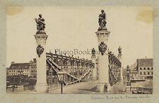 Vienne Wien Autriche Austrisa Pont Vintage albumine ca 1880