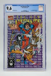 New Mutants (1983) #100 Rob Liefeld 1st Print CGC 9.6 Blue Label White Pages