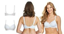 Royce Bras Womens Olivia Wire Free Bra Everyday 1089 Womens Bra White