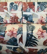 Pottery Barn Roxy Sun Soaked Full Queen Reversible Comforter Quilt Shams Beach