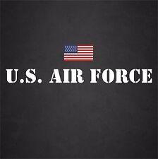 Large U.S. Air Force USAF Window Decal Sticker Military Freedom Veteran America