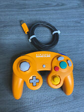 Nintendo GameCube Controller Spice Orange OEM Official Clean TESTED MINT