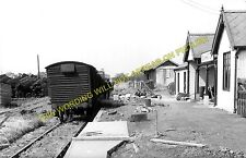Elvington Railway Station Photo. Dunnington - Wheldrake. Derwent Valley Rly. (1)