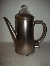 Vecchio Caffettiera caffè Preparatore Metallo vetro caraffa elettrica 1,3Liter