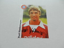 KURT NIEDERMAYER (FC BAYERN MÜNCHEN 77-82) signed Photo 10x13