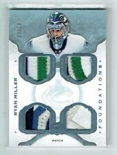 14-15 UD The Cup Foundations  Ryan Miller  /10  Quad Patches