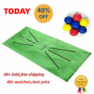 Golf Training Mat for Swing Detection Batting Practice Training Aid Game lot