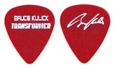 Bruce Kulick Signature Transformer Clear Red Promotional Guitar Pick - 2003 KISS