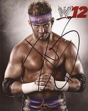 WWE WRESTLING * ZACK RYDER SIGNED 10x8 PORTRAIT PHOTO+COA