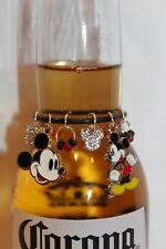 Mickey Mouse Beer Charm Mickey Mouse Charm Mickey Wine Charm Mickey Beer Marker