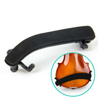 Adjustable Violin Shoulder Rest Pad Supporter Size 3/4 4/4 Height Angle Black
