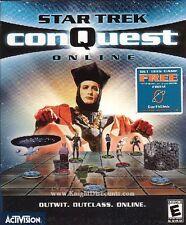 Star Trek CONQUEST ONLINE Vintage Rare PC Game NEW BOX!