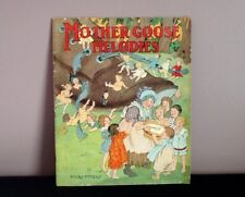 Mother Goose Melodies 1918 M. A. Donohue & Co. Soft Cover