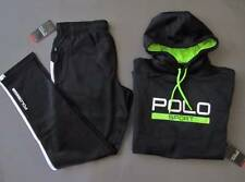 Ralph Lauren Polo Sport Tracksuit Tech Fleece Suit Black Size XL Genuine NWT
