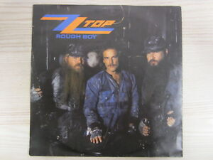 Single /  ZZ Top ‎– Rough Boy / 1986 / DE PRESS / RARITÄT /