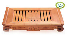 "Chinese Bamboo Gongfu Tea Table Serving Tray 15""*8.7"""