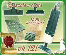 ASPIRAPOLVERE USATO GARANTITO VORWERK FOLLETTO KOBOLD VK 121 GARANTITO SCOPA