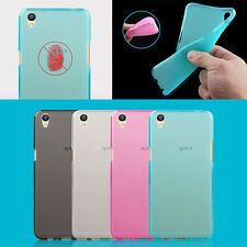 TPU Gel Silicone Soft Matte Jelly Grip Back Case Skin Cover For OPPO Models