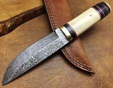Titan 26 CM Best Quality Couteau de chasse Damas Lame fixe Damascus Knife 2550H