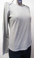 Ralph Lauren,Neuwertig,Damen,Shirt,Langarm,Grau,S(USA),Gr.38