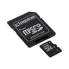 16GB MicroSD Class 10 Kingston Speicher Karte +Adapter max 80MB Handy Foto Video