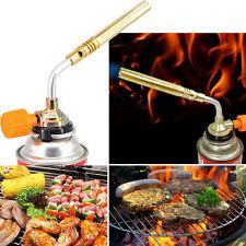Lighter Burner Butane Gas Blow Torch Hand Lgnition Camping Welding BBQ Tool US