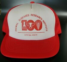 Vintage Trucker Hat Animal Diseases Research Institute Snapback Hat Ballcap