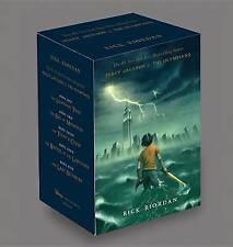 Percy Jackson & the Olympians Boxed Set by Rick Riordan (Hardback)