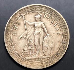 1911-B Great Britain Trade Dollar