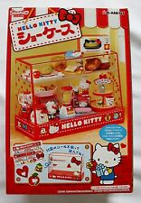 Re-Ment Miniature Mini Sanrio Hello Kitty Bakery Display Showcase Cabinet