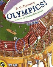 Olympics! (Picture Puffin Books)-ExLibrary