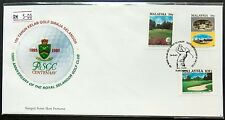 1993 Malaysia Centenary of Royal Selangor Golf Club FDC (minor toned) Lot A
