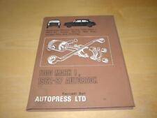 BMC 1100 Mark I 1 ADO16 Riley Kestrel VANDEN PLAS PRINCESS proprietari hadbook manuale
