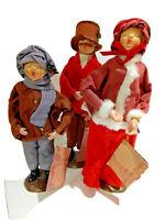 Vintage Christmas Carolers Figurines