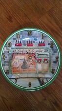 Christmas 28 Galerie Chevalier Clock Plate !!