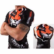 Muay Thai MMA Lucha Tigre Elásticas boxeo camiseta Arte Marcial Deportes De Surfista