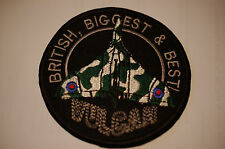 Vulcan Bomber - 90mm Sew on Patch No384