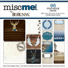 Misc Me Sleigh Ride BoBunny 96 Pocket Squares Journaling Cards