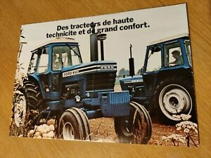 FORD 600 & 700 SERIES TRACTORS COLOUR FARMING SUPERB BROCHURE POSTER PRE USED