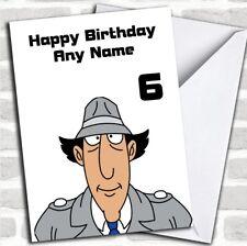 Inspector Gadget Children's Birthday Personalised Card