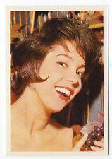 1960s German Film Star Card #110 Dutch Eurovision Singer Corry Brokken