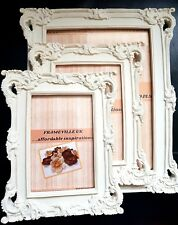 Photo Frame Ornate Vintage Baroque Rococo Shabby Chic Antique Wedding Stand Name