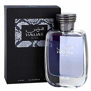 Hawas for Men EDP - Eau De Parfum 100ML (3.4 oz) | Long-Lasting Pour Homme Spray