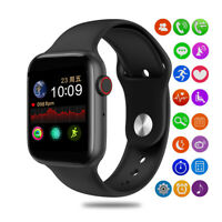 Bluetooth Smart Watch With Heart Rate Monitor ECG Analysis For IPhone Android