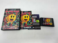 Ms. Pac-Man Tengen 1991 Sega Genesis Complete In Box CIB Tested WORKS Authentic