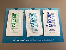 DERMALOGICA CLEAR START SAMPLES X3 Starter Samples Pack New