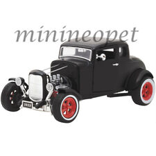 GREENLIGHT 12975 HOT ROD 1932 FORD CUSTOM 1/18 DIECAST MODEL CAR MATTE BLACK