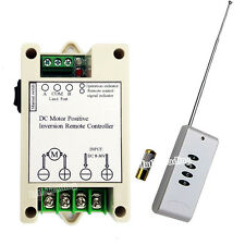 10A 12/24V Wireless Remote Control Kit Linear Actuator Motor Controller for Lift