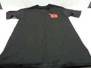 Men's FMF Racing Team T-Shirt Black/Gray Size is Small Free Shipping